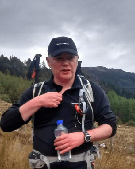 Alan Wright from Wrighway Hillwalking